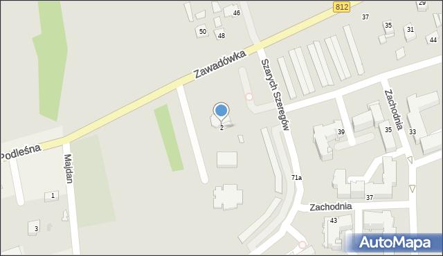 Chełm, Plac Jana Pawła II, 2, mapa Chełma