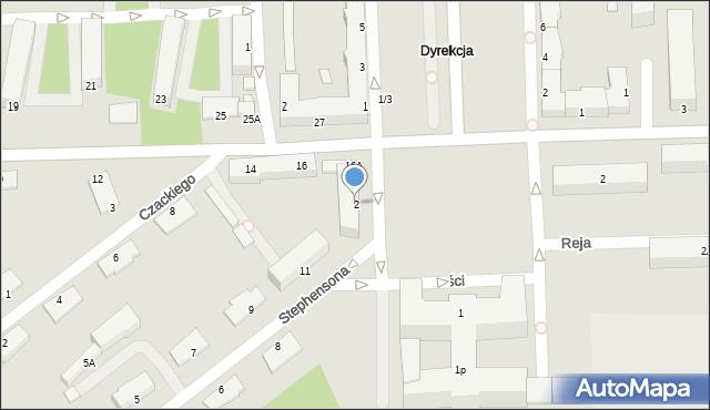 Chełm, Plac Niepodległości, 2, mapa Chełma