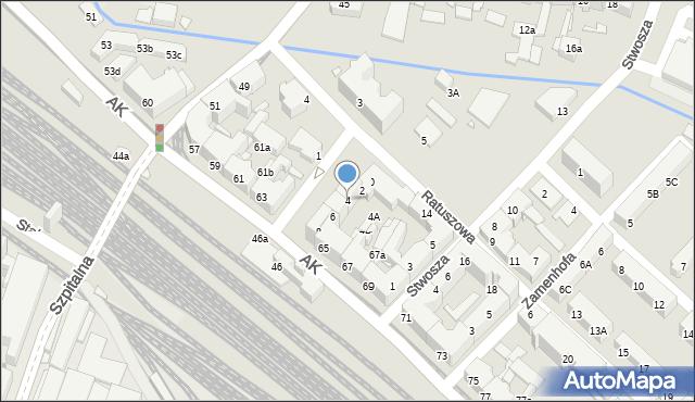 Chorzów, Plac Waryńskiego Ludwika, 4, mapa Chorzów