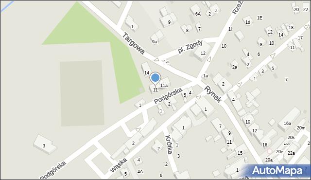 Dobczyce, Plac Zgody, 11, mapa Dobczyce