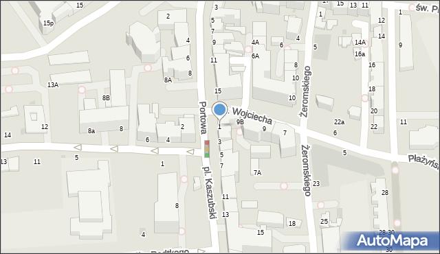 Gdynia, Plac Kaszubski, 1, mapa Gdyni