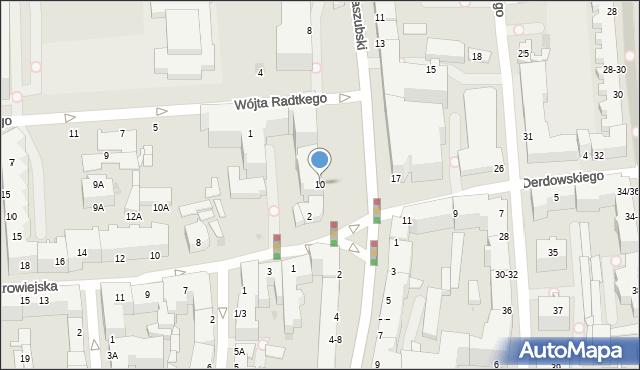 Gdynia, Plac Kaszubski, 10, mapa Gdyni