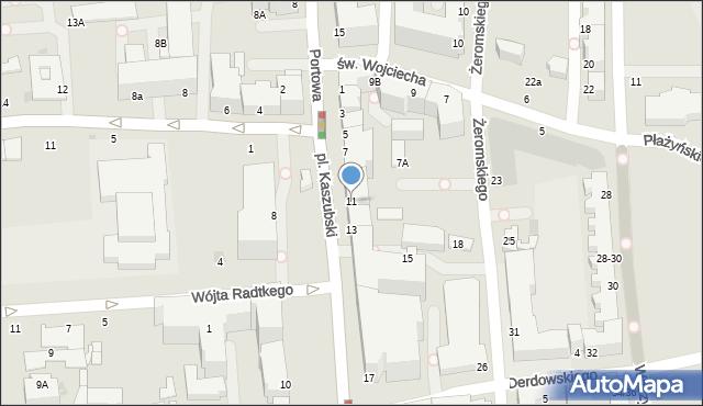 Gdynia, Plac Kaszubski, 11, mapa Gdyni