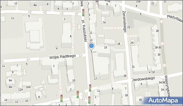 Gdynia, Plac Kaszubski, 15, mapa Gdyni
