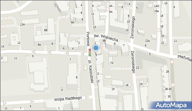 Gdynia, Plac Kaszubski, 5, mapa Gdyni