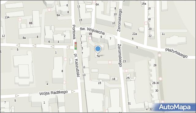 Gdynia, Plac Kaszubski, 9, mapa Gdyni