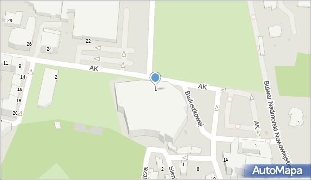 Gdynia, Plac Grunwaldzki, 1, mapa Gdyni