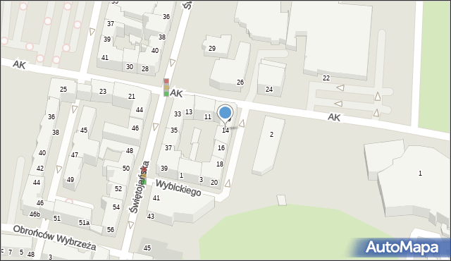 Gdynia, Plac Grunwaldzki, 14, mapa Gdyni