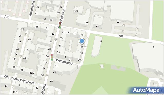 Gdynia, Plac Grunwaldzki, 16, mapa Gdyni