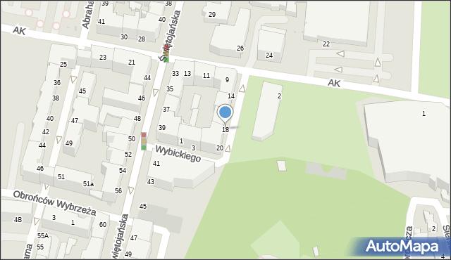 Gdynia, Plac Grunwaldzki, 18, mapa Gdyni