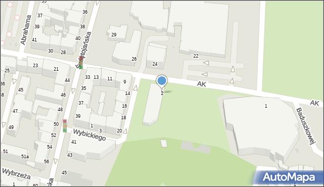 Gdynia, Plac Grunwaldzki, 2, mapa Gdyni