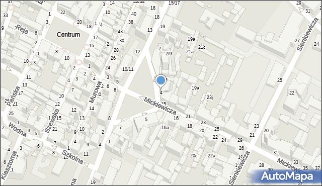 Grudziądz, Plac Niepodległości, 4, mapa Grudziądza