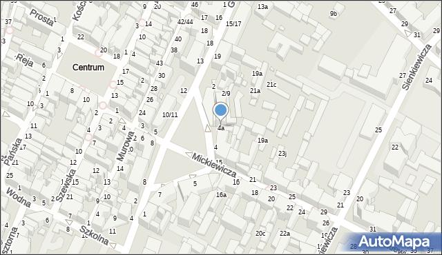 Grudziądz, Plac Niepodległości, 4a, mapa Grudziądza