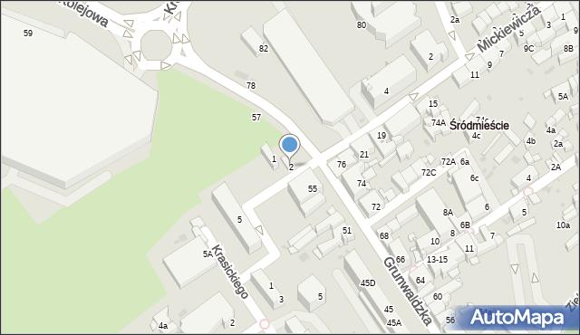 Jaworzno, Plac Górników, 2, mapa Jaworzno