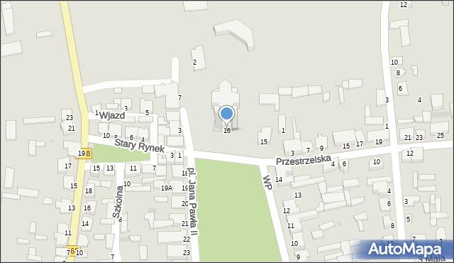 Jedwabne, Plac Jana Pawła II, 16, mapa Jedwabne