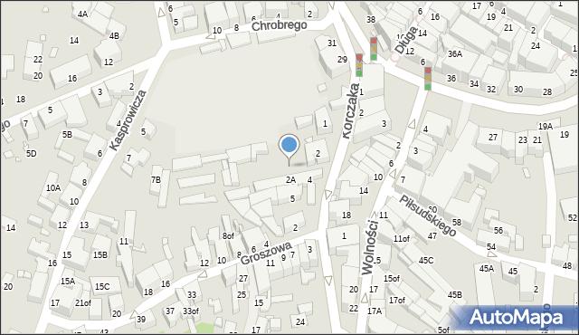 Jelenia Góra, Plac Niepodległości, 2a, mapa Jelenia Góra