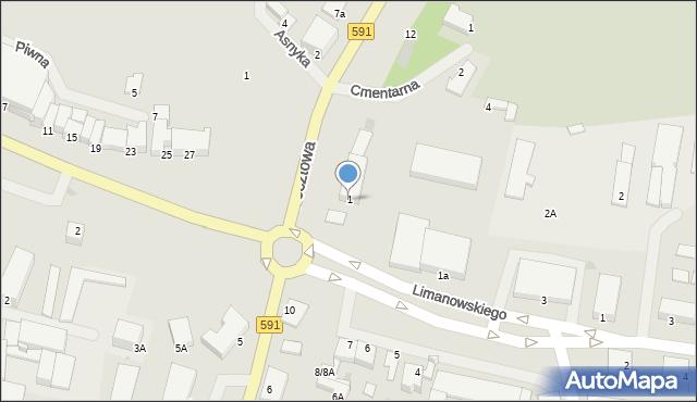 Kętrzyn, Plac Słowiański, 1, mapa Kętrzyn