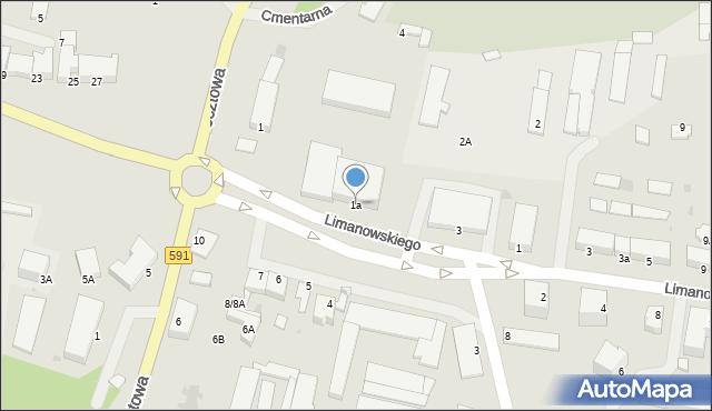 Kętrzyn, Plac Słowiański, 1a, mapa Kętrzyn