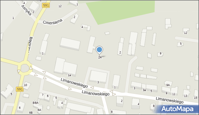 Kętrzyn, Plac Słowiański, 2A, mapa Kętrzyn