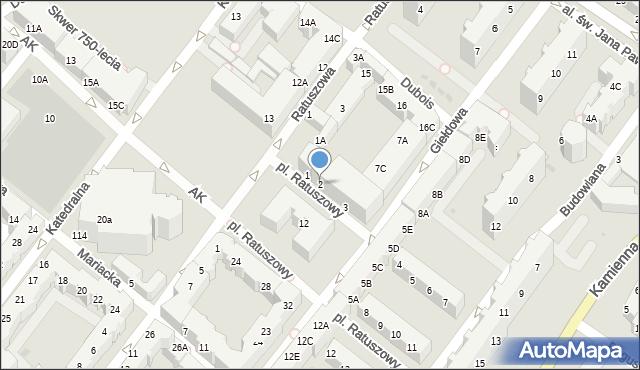 Kołobrzeg, Plac Ratuszowy, 2, mapa Kołobrzegu