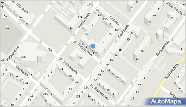 Kołobrzeg, Plac Ratuszowy, 3, mapa Kołobrzegu