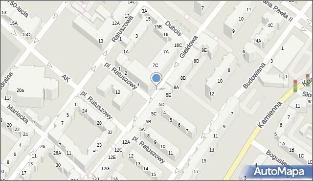 Kołobrzeg, Plac Ratuszowy, 3g, mapa Kołobrzegu