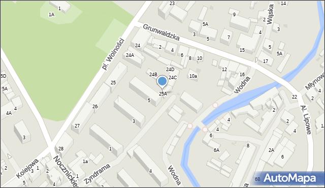 Olecko, Plac Wolności, 25A, mapa Olecko