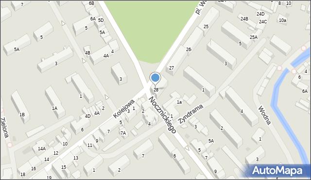Olecko, Plac Wolności, 28, mapa Olecko