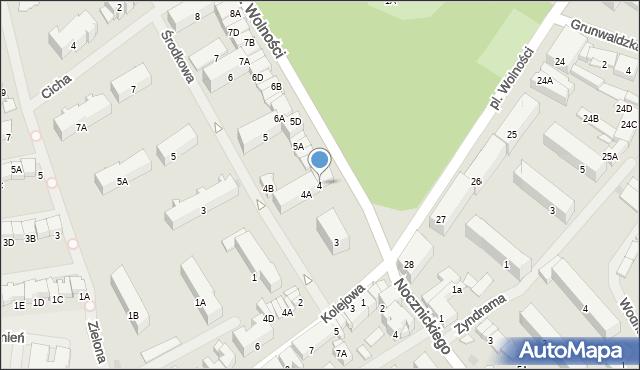Olecko, Plac Wolności, 4, mapa Olecko