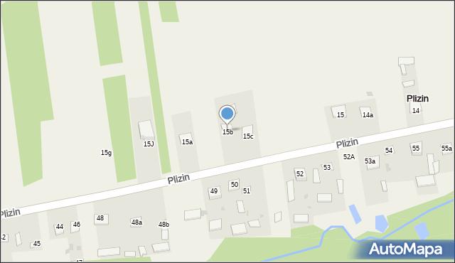 Plizin, Plizin, 15b, mapa Plizin
