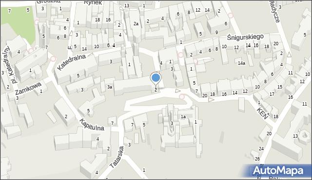 Przemyśl, Plac Czackiego Tadeusza, 2, mapa Przemyśla