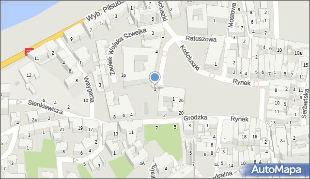 Przemyśl, Plac Dominikański, 2, mapa Przemyśla