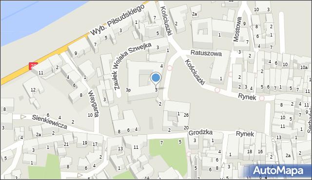 Przemyśl, Plac Dominikański, 3, mapa Przemyśla