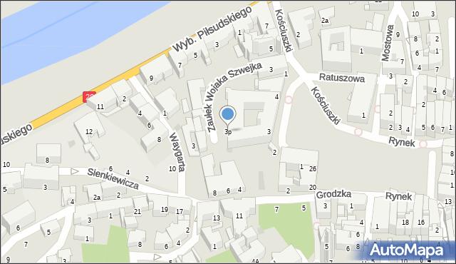 Przemyśl, Plac Dominikański, 3p, mapa Przemyśla