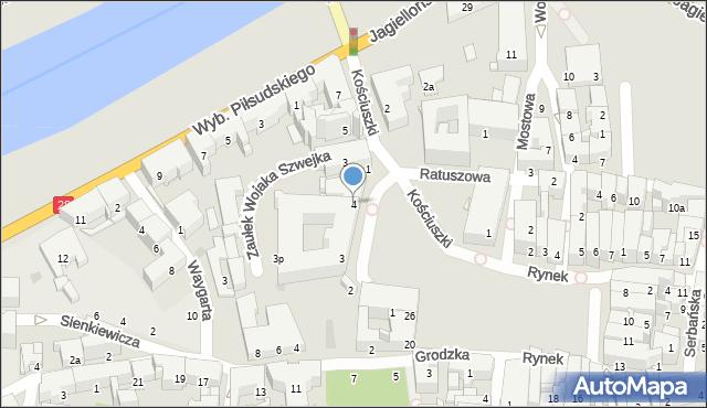 Przemyśl, Plac Dominikański, 4, mapa Przemyśla