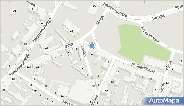 Radom, Plac Jagielloński, 1, mapa Radomia