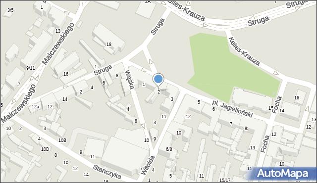 Radom, Plac Jagielloński, 2, mapa Radomia