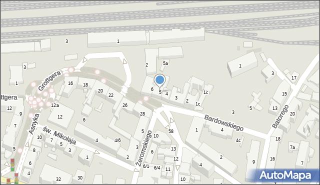 Rzeszów, Plac Kilińskiego Jana, płk., 5, mapa Rzeszów