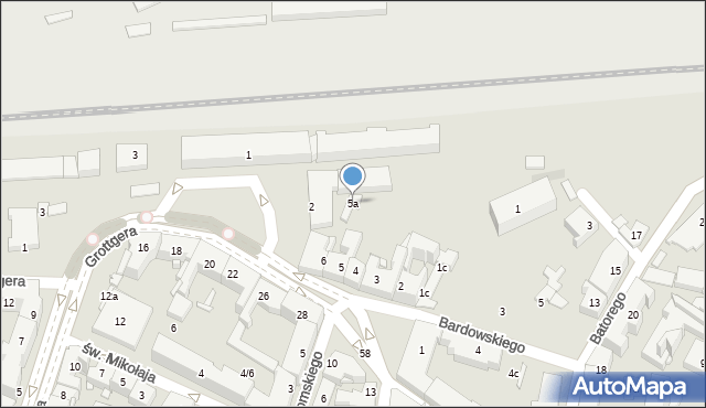Rzeszów, Plac Kilińskiego Jana, płk., 5a, mapa Rzeszów