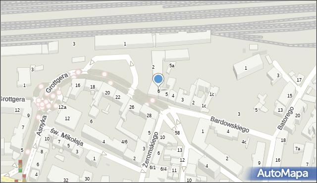 Rzeszów, Plac Kilińskiego Jana, płk., 6, mapa Rzeszów