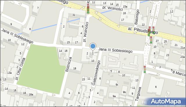 Rzeszów, Plac Wolności, 1, mapa Rzeszów