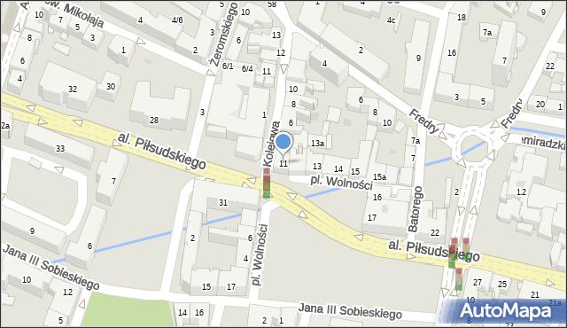 Rzeszów, Plac Wolności, 11, mapa Rzeszów
