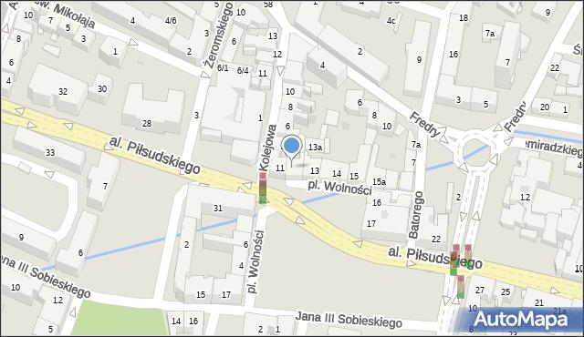 Rzeszów, Plac Wolności, 12, mapa Rzeszów
