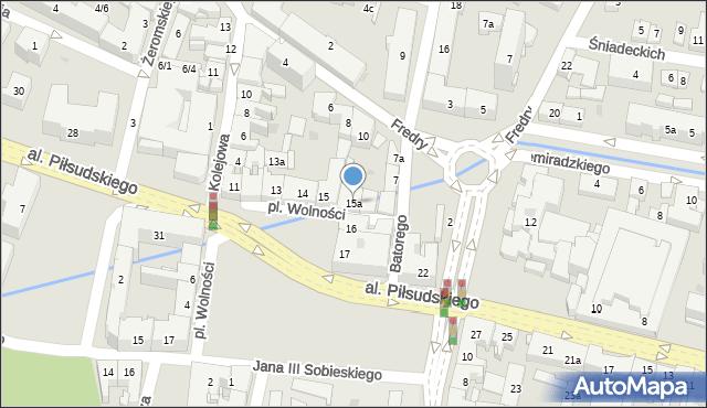 Rzeszów, Plac Wolności, 15a, mapa Rzeszów