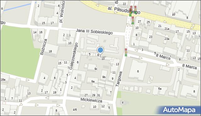 Rzeszów, Plac Wolności, 9, mapa Rzeszów