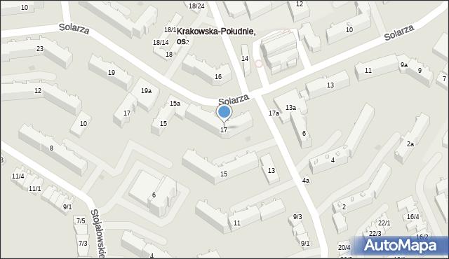 Rzeszów, Pleśniarowicza Jerzego, 17, mapa Rzeszów