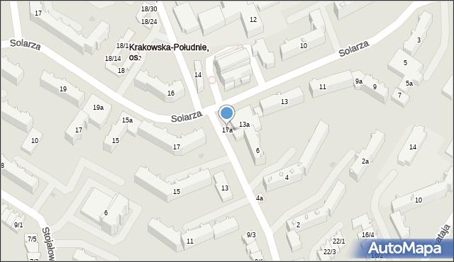 Rzeszów, Pleśniarowicza Jerzego, 17a, mapa Rzeszów