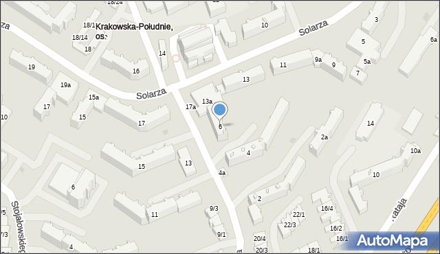 Rzeszów, Pleśniarowicza Jerzego, 6, mapa Rzeszów