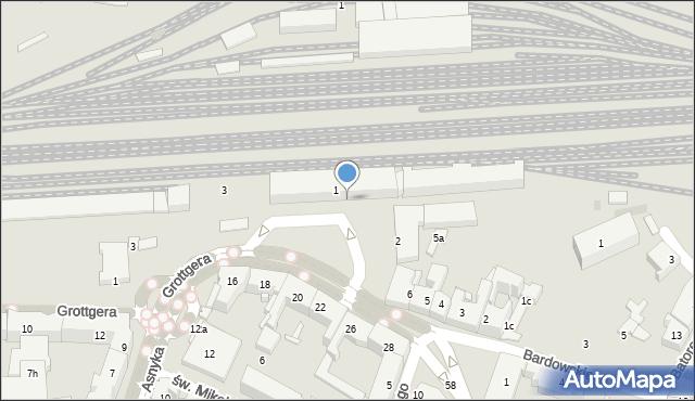 Rzeszów, Plac Dworcowy, 6, mapa Rzeszów