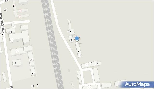 Sopot, Platanowa, 7, mapa Sopotu